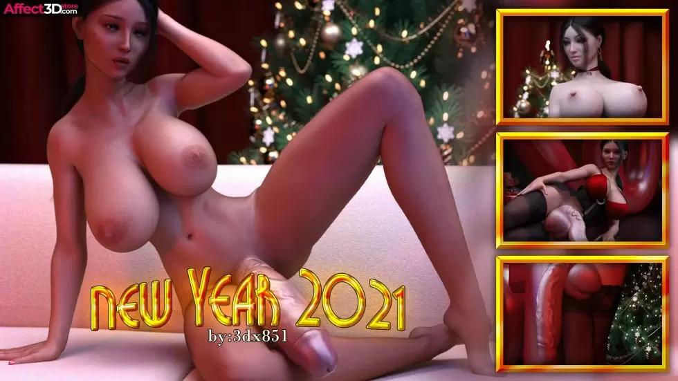 【A3D】[3dx851] New Year 2021