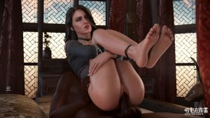 [Pewposterous] Yennefer Carry Feet Up
